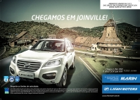 Lifan chegou em Joinville
